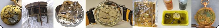 OROLOGERIA - Revisioni movimenti per orologeria da tasca, polso e pendoleria antica e moderna.