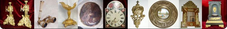 RESTAURO - Recupero lignei, bronzi ed antimoni dorati e non, pulitori per tele annerita da nerofumo, monete antiche.