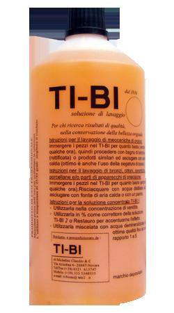 Soluzione TI-BI - Soluzione disossidante per orologeria e recupero estetico di dorature al mercurio  di antimonio e bronzo.