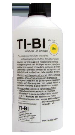 TI-BI ORO - Soluzione per disossidare in oreficeria.