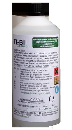 TI-BI TECNICO - Soluzione disossidante per micromeccanica,elettronica, ottica, monete, armi antiche e moderne.