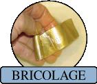 TIBI BRICOLAGE - Pulitori di maniglieria ed accessori per arte povera in ottone e bronzo lucidato e dorato, antimonio.