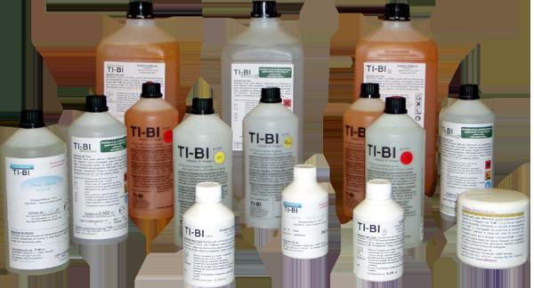 Prodotti disossidanti e decapanti TI-BI